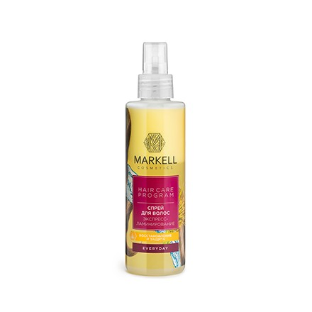Купить Markell, Спрей для волос Everyday «Экспресс-ламинирование», 200 мл
