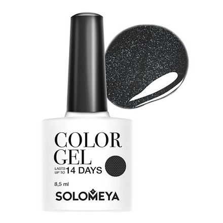 Купить Solomeya, Гель-лак №52, Cartwheel, Wella Professionals, Черный