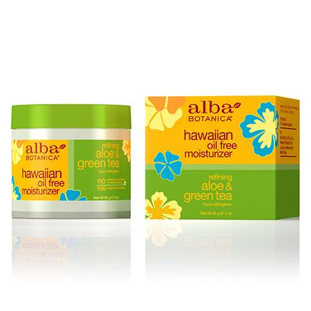 Alba Botanica, Крем для лица Hawaiian Aloe&Green Tea, 85 г солнцезащитное средство alba botanica