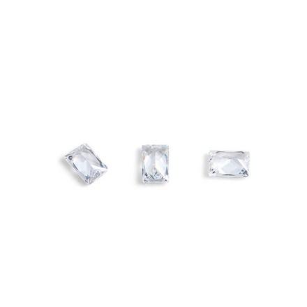 Купить TNL, Кристаллы «Багет» №1, прозрачные, 10 шт., TNL Professional