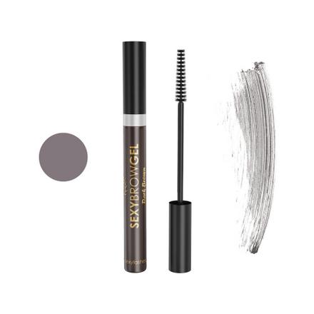 Innovator Cosmetics, Гель для бровей оттеночный «Sexy Brow Gel», темно-коричневыйКарандаши для бровей<br>Гель для фиксации нужной формы бровей и ресниц (10 мл).<br>