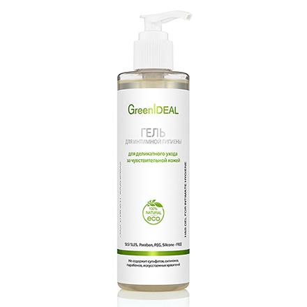 Купить GreenIDEAL, Гель для интимной гигиены, деликатный уход, 250 мл