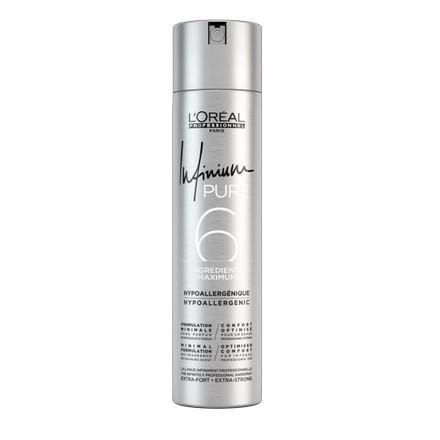 Loreal Professionnel, Лак для волос Infinium Pure Extra Strong, 75 мл (LOreal (Лореаль))