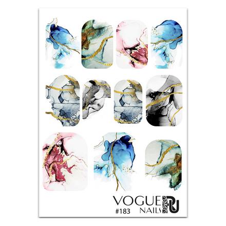 Купить Vogue Nails, Слайдер-дизайн №183