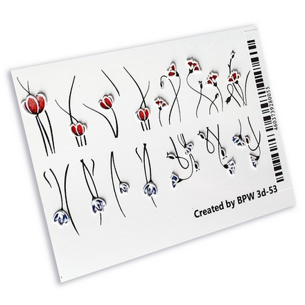 Купить BPW.Style, 3D-слайдер-дизайн «Цветы» №3d-53