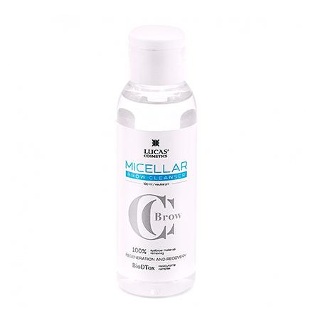 Lucas' Cosmetics, Мицеллярная вода Brow Cleanser, 100 мл
