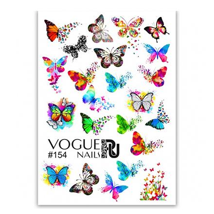 Купить Vogue Nails, Слайдер-дизайн №154