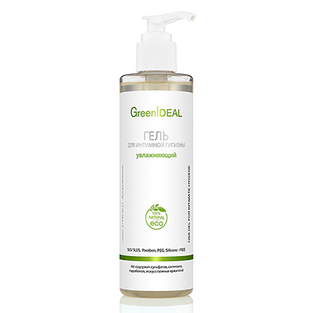 Купить GreenIDEAL, Гель для интимной гигиены «Увлажняющий», 250 мл