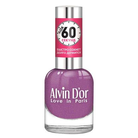 Купить Alvin D'or, Лак «60 секунд» №36, Фиолетовый