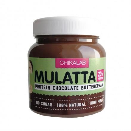 Chikalab, Шоколадная паста Mulatta, с фундуком, 250 г