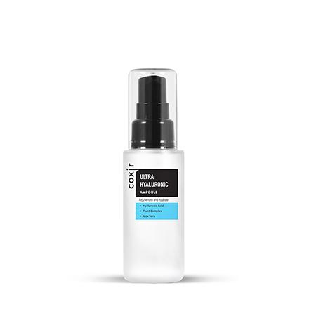 Coxir, Ампульная сыворотка Ultra Hyaluronic, 50 млСыворотки для лица<br>Ампульная сыворотка с гиалуроновой кислотой для увлажнения кожи.