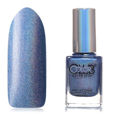 Color Club, Цвет №1094, Crystal BallerColor Club<br>Профессиональный лак (15 мл) синий с фиолетовым оттенком, с голографическими микроблестками, плотный.<br><br>Цвет: Синий<br>Объем мл: 15.00