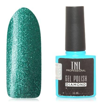Купить TNL, Гель-лак Diamond №06, Изумруд, TNL Professional, Зеленый
