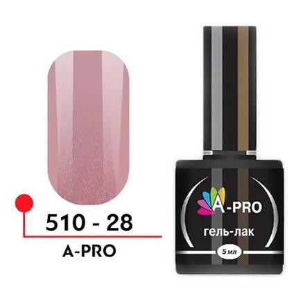 Купить A-Profi, Гель-лак A-PRO №28, Розовый