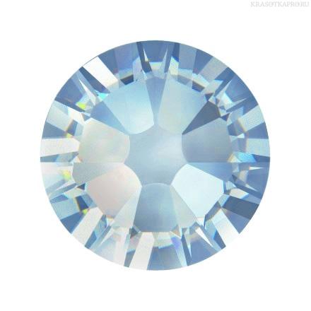 Купить Кристаллы Swarovski, Aquamarine 1, 8 мм (100 шт)