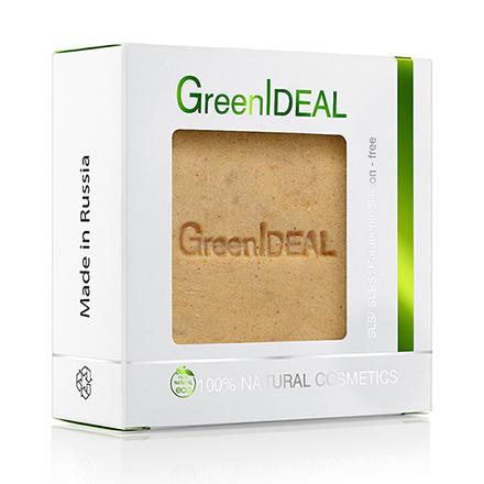 Купить GreenIDEAL, Мыло ручной работы «Персик», 100 г