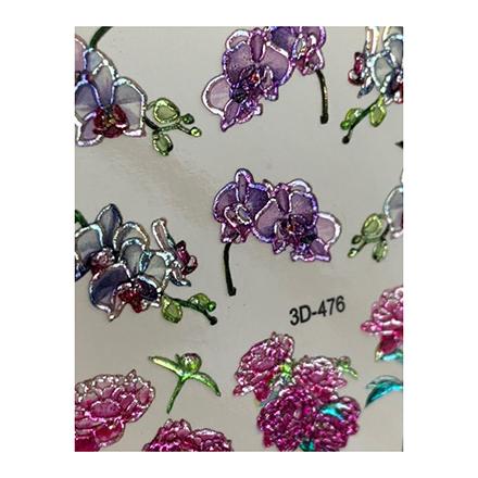 AnnaTkacheva,3D-слайдерCrystal№476 «Цветы. Цветочки» фото