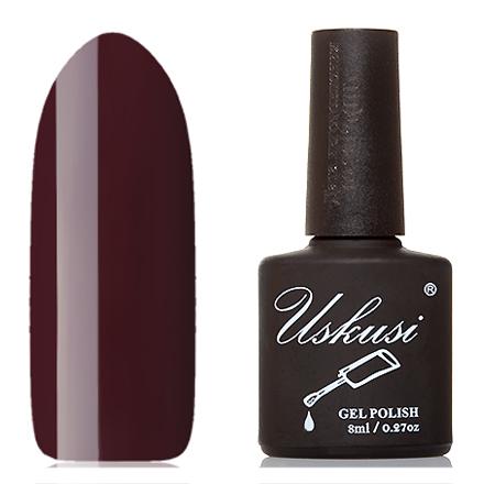 Uskusi, Гель-лак №211Uskusi<br>Гель-лак (8 мл) винно-бордовый, без перламутра и блесток, плотный.<br><br>Цвет: Красный<br>Объем мл: 8.00