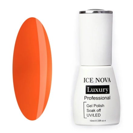 Купить Ice Nova, Гель-лак Luxury №018, яОранжевые и коралловые