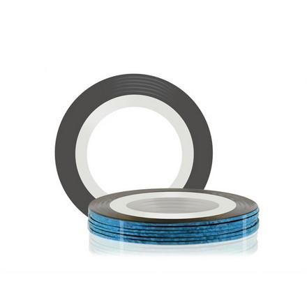 Купить RuNail, Самоклеющаяся лента для дизайна ногтей, синяя, 20 м
