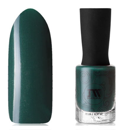 Купить Masura, Лак для ногтей «Золотая коллекция», Чайный лист, Зеленый