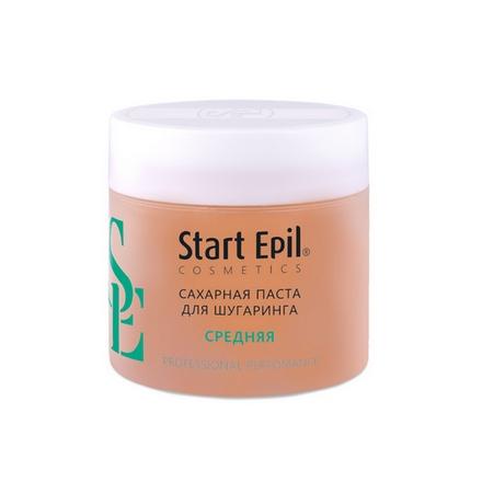Start Epil, Сахарная паста для шугаринга «Средняя», 400 г