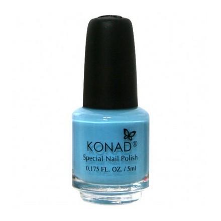 Купить Konad, лак для стемпинга, цвет S20 Pastel Blue 5 ml (пастельно-голубой), Синий