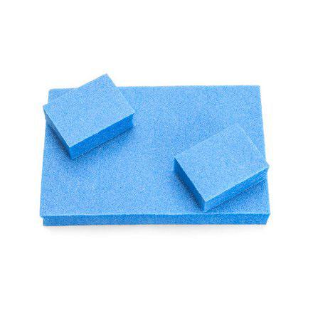 TNL, Баф mini голубой, 10 шт. tnl набор кистей 7 шт