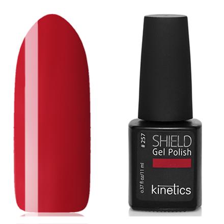 Купить Kinetics, Гель-лак Shield №257, City Queen, Красный