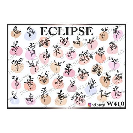 Купить Eclipse, Слайдер-дизайн для ногтей W №410
