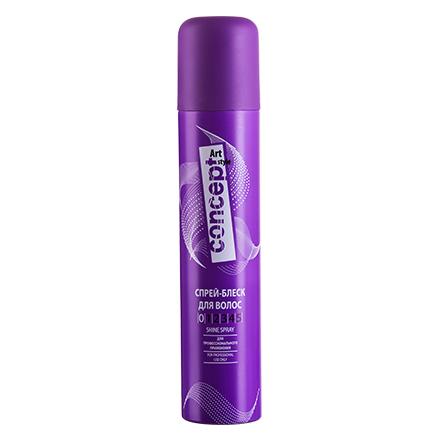 Concept, Спрей-блеск для волос, 200 мл