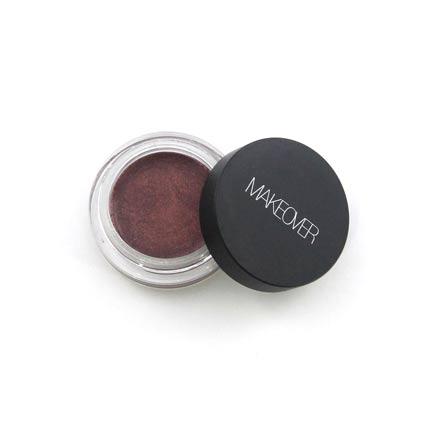 MAKEOVER PARIS, Устойчивые кремовые тени, BrownТени для глаз<br>Стойкие перламутровые тени для глаз (5 г).