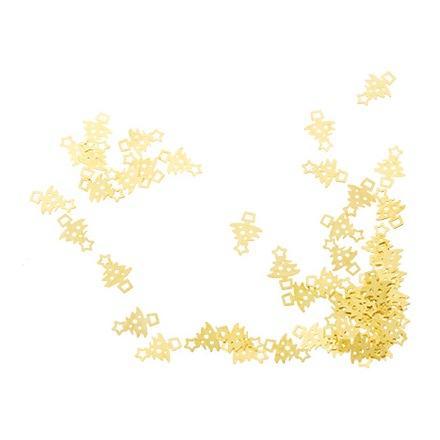 IRISK, Декор Новогодняя символика, 01 Елочка маленькая золотая