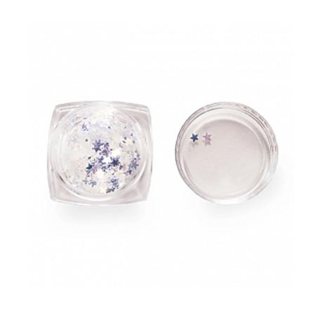 ruNail, Пайетки зеркальные «Звездочки»Пайетки<br>Декор для сияющего дизайна ногтей.