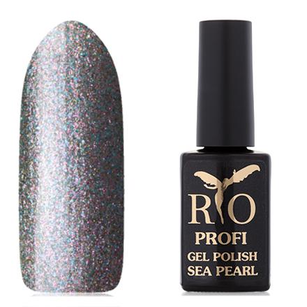 Rio Profi, Гель-лак «Sea Pearl» №8, Черная Жемчужина rio profi гель лак 83 королевский дракон