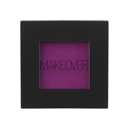 Купить MAKEOVER PARIS, Тени для век Single Eyeshadow, Purple