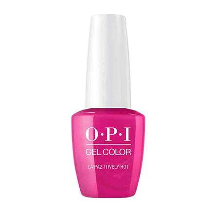 Купить OPI, Гель-лак Iconic, La Paz-itively Hot, Розовый