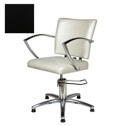 Купить Мэдисон, Кресло парикмахерское «Памела» гидравлическое, хромированное, черное