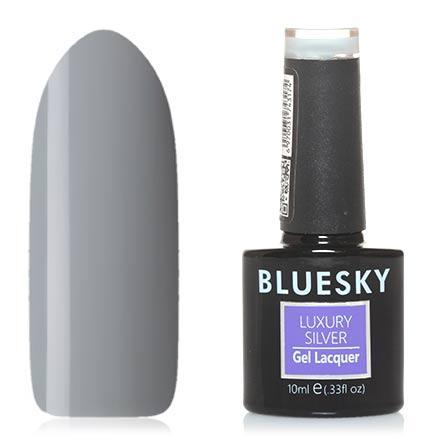 Купить Bluesky, Гель-лак Luxury Silver №204, Черный