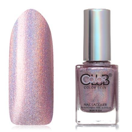 Color Club, Цвет №977, Cloud NineColor Club<br>Профессиональный лак (15 мл) лиловый, с голографическими микроблестками, плотный.<br><br>Цвет: Фиолетовый<br>Объем мл: 15.00