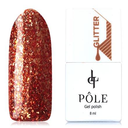 POLE, Гель-лак №23, Спелый нектаринPOLE<br>Гель-лак (8 мл) глубокий оранжевый, с золотистой фольгой, плотный.<br><br>Цвет: Оранжевый<br>Объем мл: 8.00