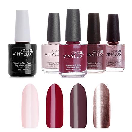 Набор лаков для ногтей CND Vinylux