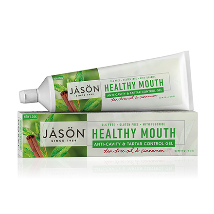 Купить JASON, Гелевая зубная паста Healthy Mouth Anti-Cavity&Tartar Control, 170 г, JASON (JĀSÖN)