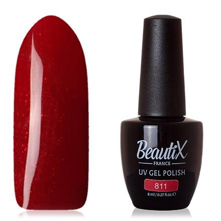 Купить Beautix, Гель-лак №811, Красный