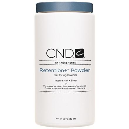 CND, Акриловая пудра Retention+ Powder Intense Pink, 907 гр