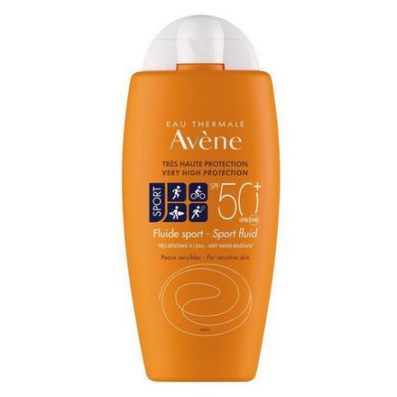 Купить Avene, Солнцезащитный флюид Sport SPF 50+, 100 мл