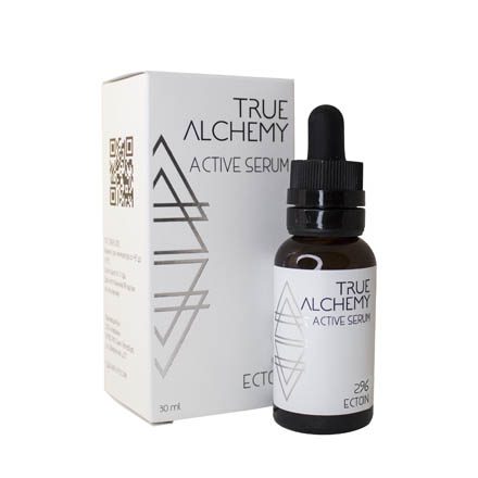 True Alchemy, Активная сыворотка Ectoin 2,0%, 30 млСыворотки для лица<br>Сыворотка для повышения эластичности кожи.