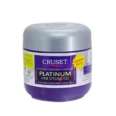 Cruset, Гель для укладки волос Platinum, 250 мл matrix гель для укладки экстрасильной фиксации style link super fixer 200 мл