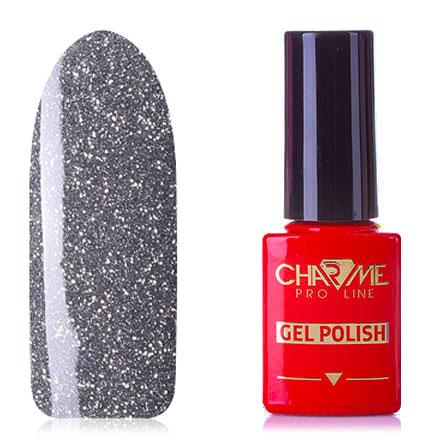 Купить CHARME Pro Line, Гель-лак Glamour №01, Серый