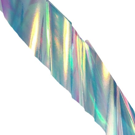 TNL, Дизайн Битое стекло №05 (серебряное) (TNL Professional)